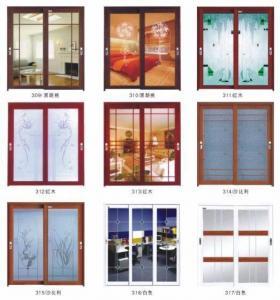 China Hanging Sliding Doors-White,Black Walnut on sale