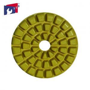 China Durable Diamond Resin Polishing Pads , Concrete Floor Polishing Pads on sale