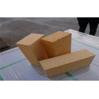 Cheap High Temperature Fireclay Brick , Glass Furnace Lining Insulated Fire Brick for sale