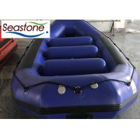 China ST-SF400 Rubber Raft Boat , White Water Rafting Raft Popular Design Air Cushion Bottom on sale