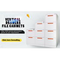 Best 3 drawer filing cabinet/storage cabinet,fully open,cold roll steel plate material wholesale