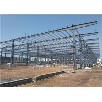 Best Low Cost Large-Span Prefabricated Light Steel Structure Frame Warehouse Building Construction wholesale