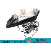 Best Electric Control Casino Card Shoe Built - In High Speed Recognition Sensor wholesale