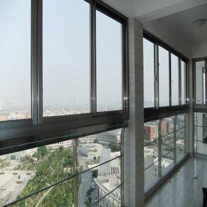 Best Durable Horizontal Aluminium Sliding Windows Sound Insulation Waterproof wholesale