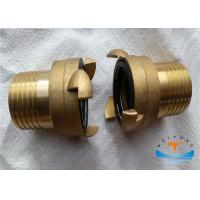 Marine Brass International Shore Connection With Bolts , Nuts , Washers And Gaskets