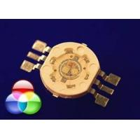 Best RGB 3W high power led With Red 30-40lm /  Green 70 - 80lm / Blue 15 - 20lm For Fountain Light wholesale