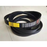 Best Rubber Wrapped Agricultural V Belts Black Color With Low Elongation Rate wholesale