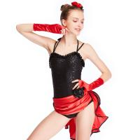 Cheap MiDee Dance Costume Latin Dress For Women Sweetheart Camisole Sequins for sale