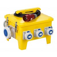 Best Yellow Mobile Portable Electrical Distribution Box Shock Resistant PE Enclosure wholesale