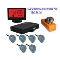 China Colorful LCD With 6 Sensors Parking Sensor on sale