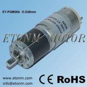 China micro metal gear motor de gear motor encoder 28mm diameter on sale