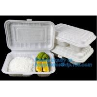 Best Compartment Food Container Round Food Containers Rectangular Food Containers Deli Containers BAGEASE BAGPLASTICS PACKAGE wholesale