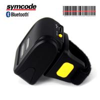 Wearable Ring Finger Bluetooth Barcode Scanner 120 Scans Per Second Rate