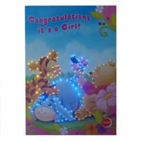 Best Paper LED customized Musical Greetings Cards with voice chip for birthday gifts wholesale