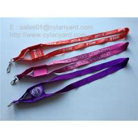 China Functional polyester mobile phone pocket lanyards, mobile phone pouch lanyards, on sale