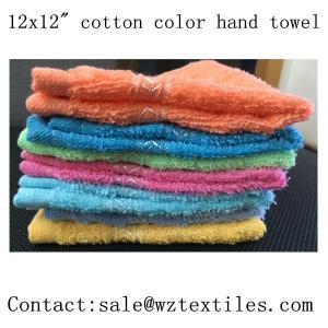 high quality Hotel towel fabric hand towel