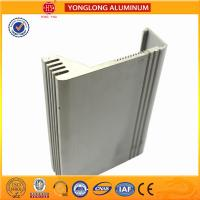 China Silver / Bronze Aluminum Extrusion Profiles For Building Heat Insulation on sale