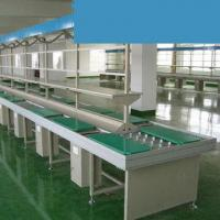 China Simple Structure Hand Push Assembly Line on sale
