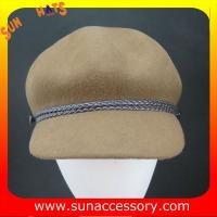 Best 2274 Sun Accessory customized fashion winter wool felt cowboy hats  ,women hats and caps wholesaling wholesale