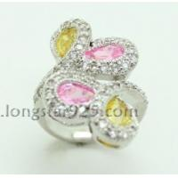 Best 925 silver flower ring, fashion silver ring wholesale wholesale