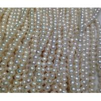 Best 6-7mm lap semi-finished products of natural freshwater pearl wholesale wholesale