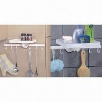 China Suction racks with towel shelf, suction shelf, suction hook, suction button on sale