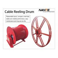 Best Cable Reeling Drum With Red Surface And 380v/440v Voltage Multi-specification wholesale