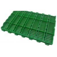China Hog Slat Flooring Propene Polymer Material Smooth Surface Easy Install Multi Colors on sale