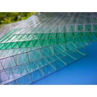 Best Impact Resistance Greenhouse 6mm Twin Wall Polycarbonate Sheet With UV Coated wholesale