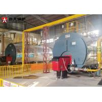 China 1 Ton Per Hour Gas Steam Boiler Low Pressure Boiler 5 Bar Working Pressure on sale