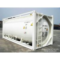 20FT TANK CONTAINER FOR BULK CEMENT  for sale Portable iso Tank Container  WhatsApp:8615271357675  Skype:tomsongking