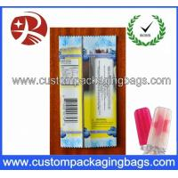 China Promotional Plastic Food Custom Packaging Bags For Clear Ice Lolly wholesale
