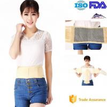 Best Elastic Cloth Heated Back Brace / Lumbar Support Belt Improve Microcirculation wholesale