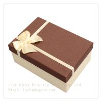 Best Factory elegant gift box paper packing jewelry box customize design exquisite box with rib wholesale