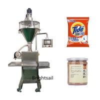China Semi Automatic Filling Packing Machine Detergent Powder Packaging Customized Voltage on sale