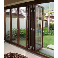 Best Anti Rusting Aluminum Frame Glass Door Waterproof With ISO9001 Certification wholesale