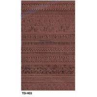Water Proof Light Weight Decorative Wall Tiles Dark Brown For Outside Wall