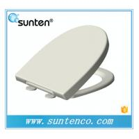 China Eco-friendly Feature Closed Front Soft Close Oval Urea Toilet Seat Supplier on sale