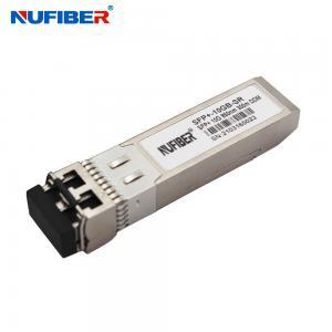 Best SFP-10G-SR Sfp+ Module Multi Mode Fiber 10gbe Lc 300m 850nm wholesale