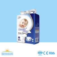 China Breathable clothlike backsheet baby diaper with high quality and cheap price for diapers on sale