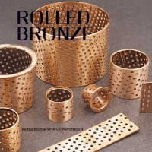 Best CuSn8 CuSn6 BRM10 Wrapped Bronze Bearings Self Lubricating wholesale