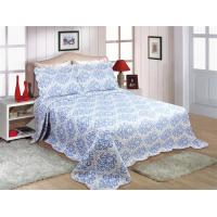 Best Household Printed Quilt Set Lightweight 220x240 / 240x260cm Machine Washing wholesale