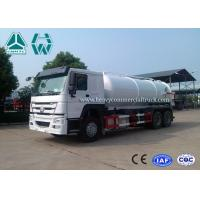 China 12 Cbm 6X4 Manual Diesel Sewage Pump Truck , Sewage Vacuum Truck on sale