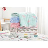 Best Organic Cotton Bamboo Baby Muslin Swaddle Blankets , Muslin Baby Blankets wholesale