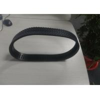 Buy cheap Black Rubber Tank Tracks For Robots 48mm X 10mm X 84 Links Low Noise from wholesalers