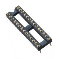 Best 2.54mm IC Card Round Pin Header 2*14P DIP H=3.0 L=7.43 Row Of Pitch 7.62 wholesale