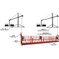 Aluminium Scaffolding Suspended Working Platform with Steel Rope