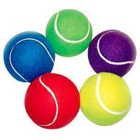 Best 2.5inch promotional tennis ball with custom logo B grade wholesale