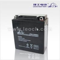 China LEOCH Maintenance Free Motorcycle Battery With 12V5AH on sale