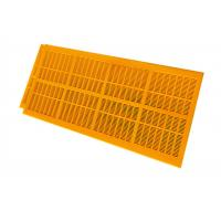 Buy cheap Self Cleaning Dewatering Polyurethane Screen Mesh For Broken Aggregates 1200x305 from wholesalers